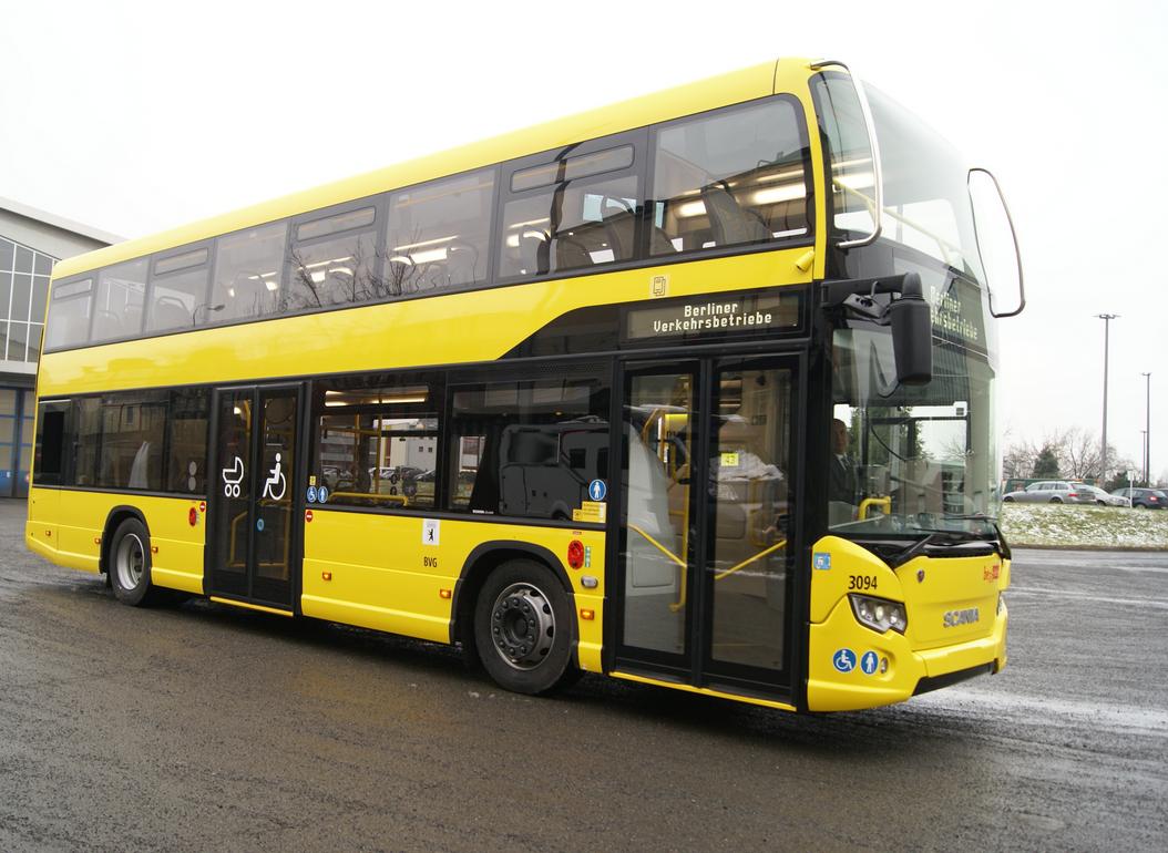 Scania ecco il citywide a due piani autobus web la for Piani a due piani con master al primo piano