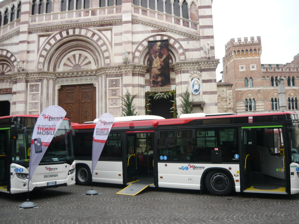 nuovi bus Grosseto