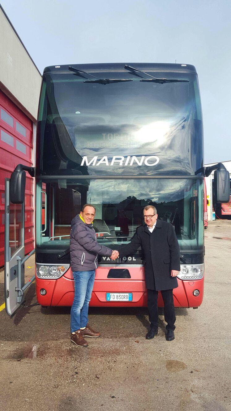 Préférence Van Hool, gli Astromega di Marino Autolinee | AUTOBUS Web - La  AY47