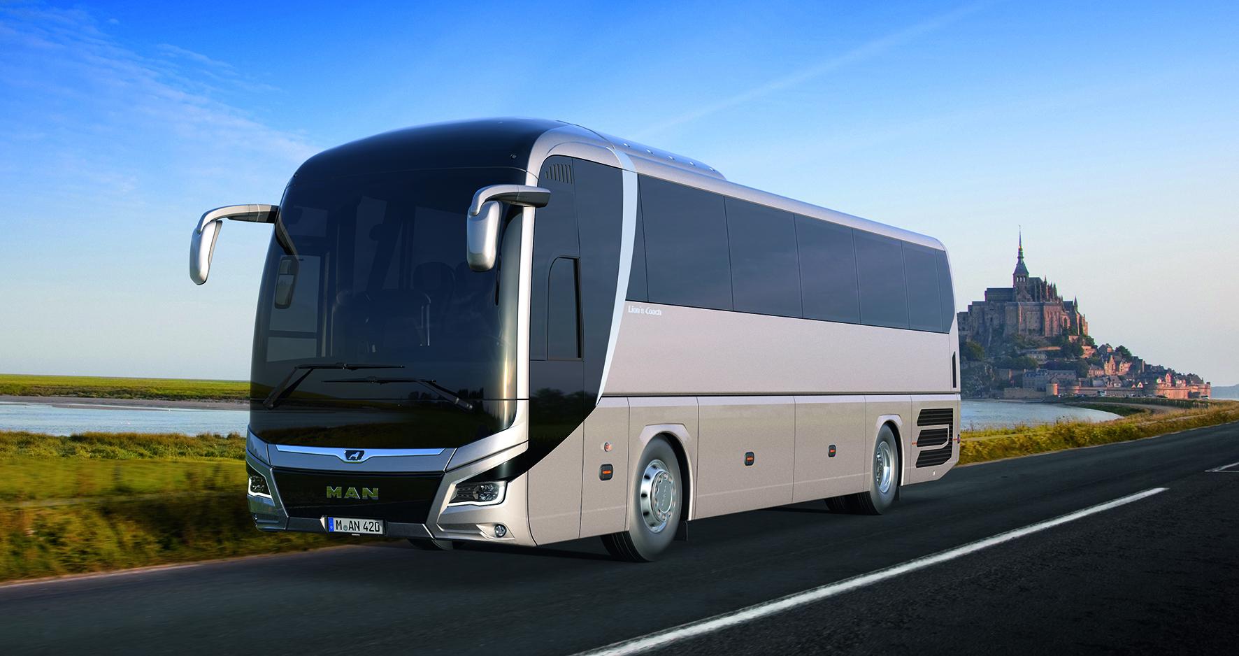 Nuovo Man Lion S Coach Normativa Europea Antiribaltamento