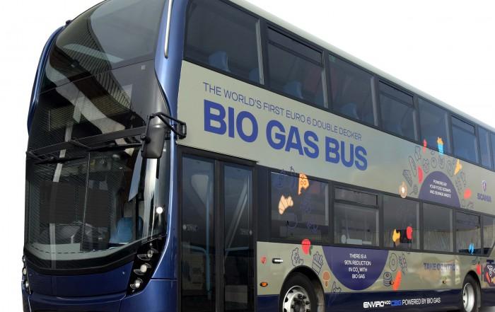 Autobus a biogas