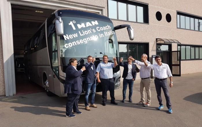nuovo man lion's coach prima consegna italia autonoleggi molesti massimiliano