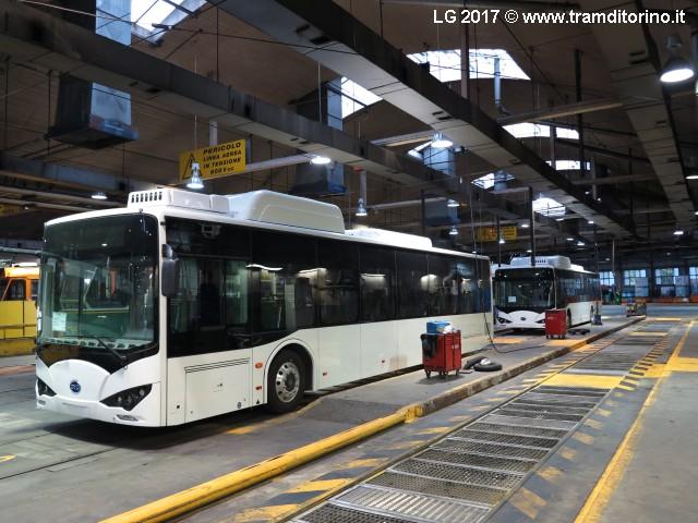 autobus elettrici byd torino