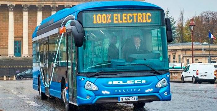 Autobus elettrici Heuliez Bus