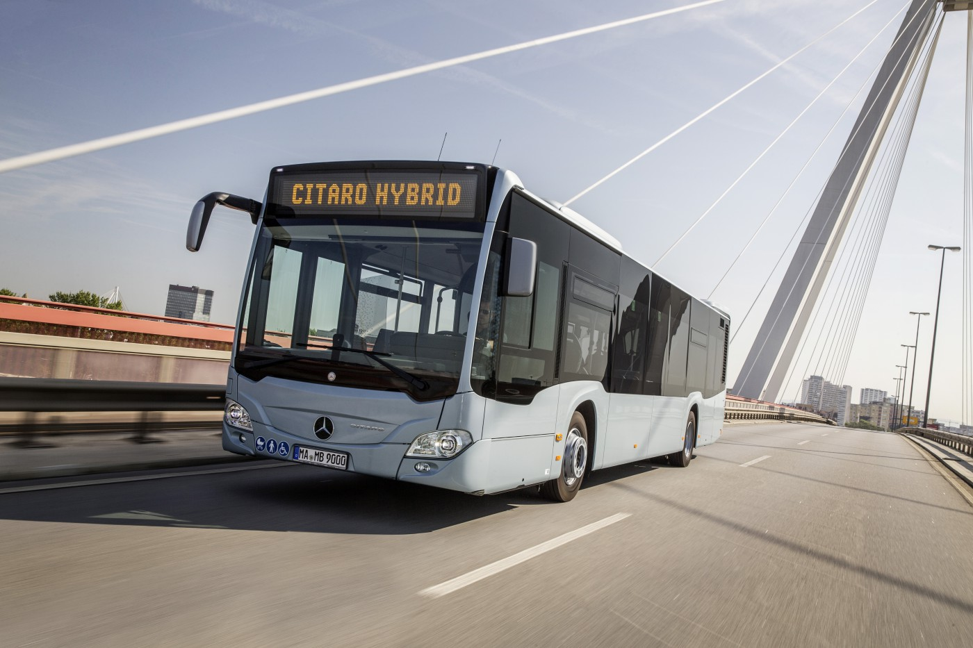 mercedes autobus elettrico citaro hybrid