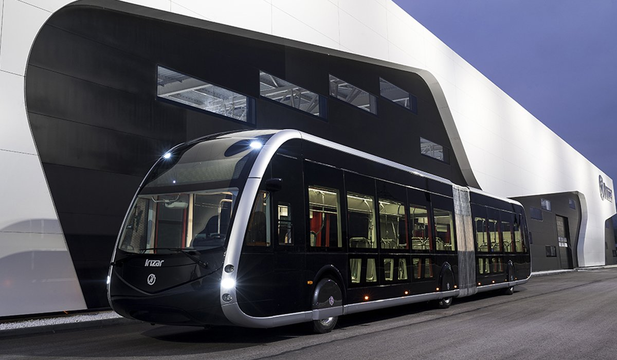 autobus elettrico irizar tram