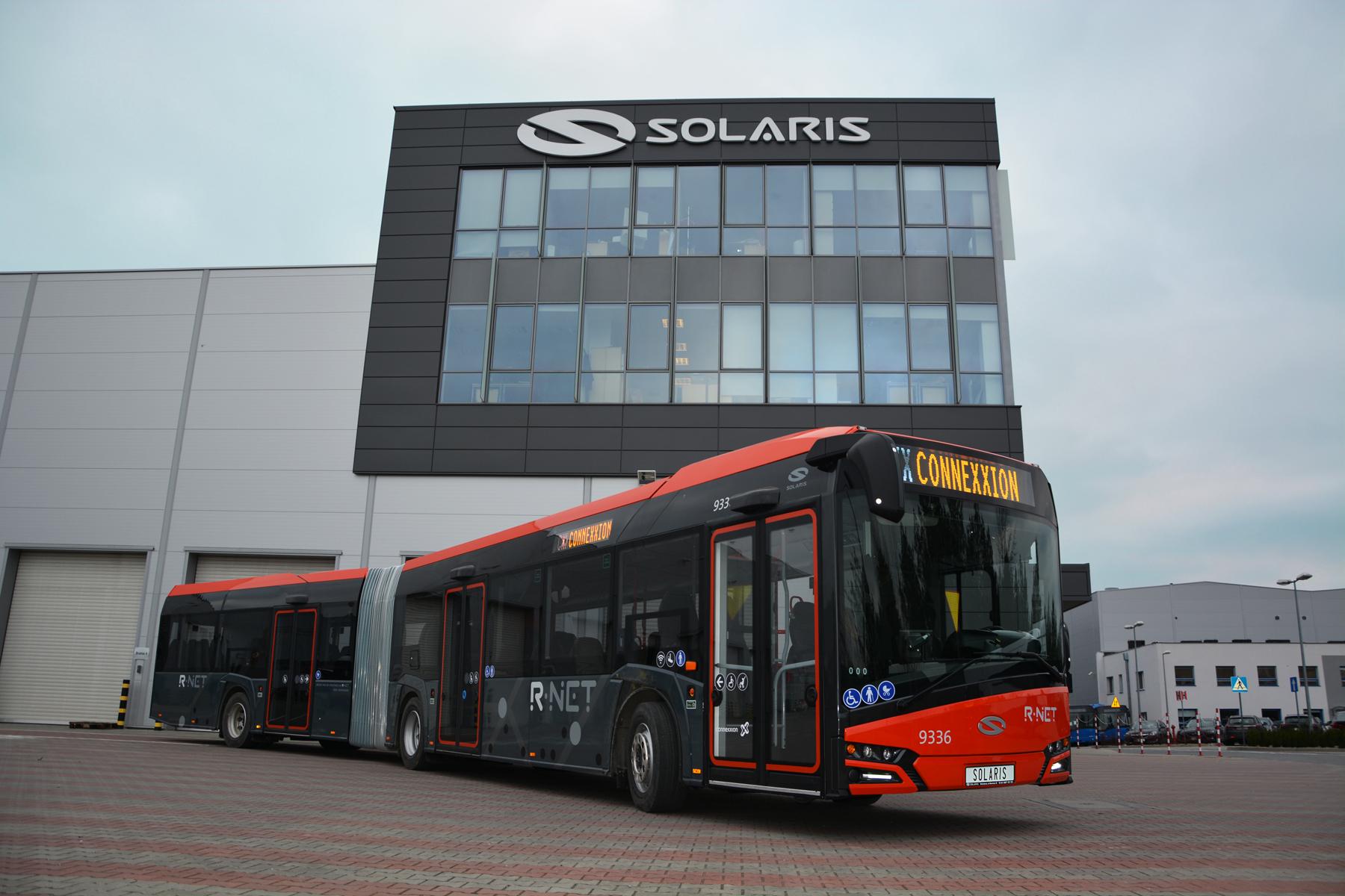 25 autobus elettrici solaris per 39 pulire 39 la flotta di for Costruttore blueprint gratuito