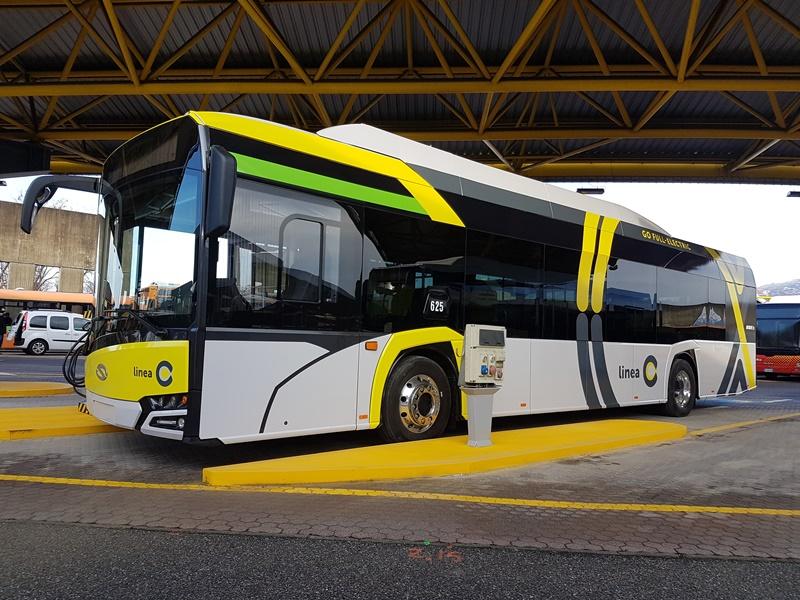 autobus elettrici solaris urbino atb bergamo linea c