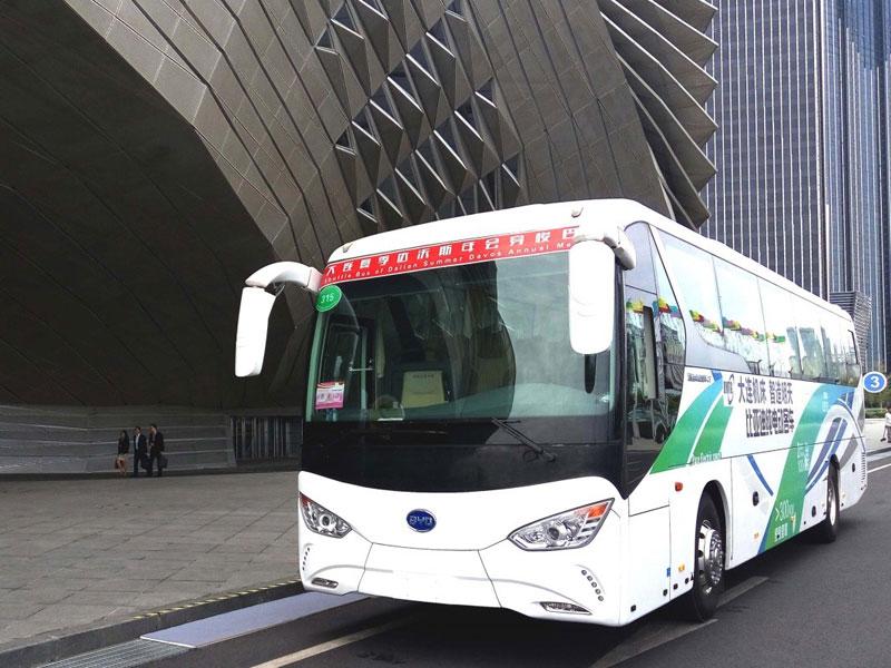 autobus elettrico byd c9
