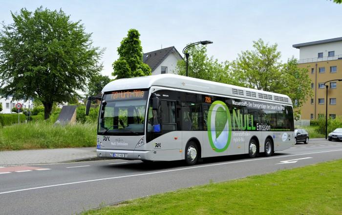 autobus a idrogeno van hool