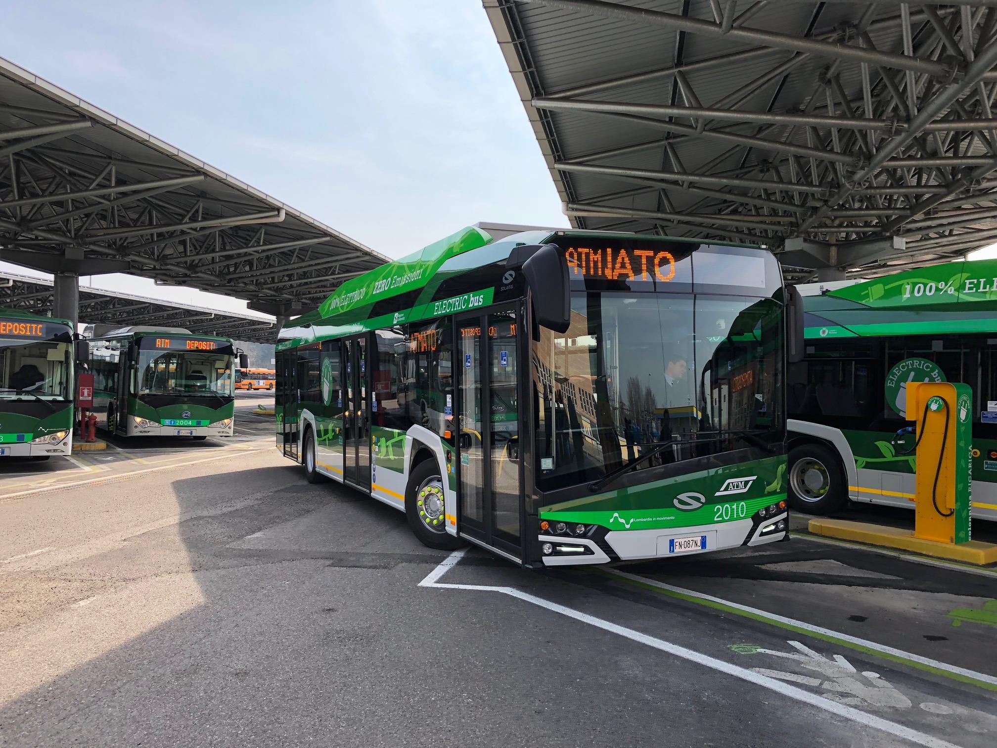 Bus elettrici Atm