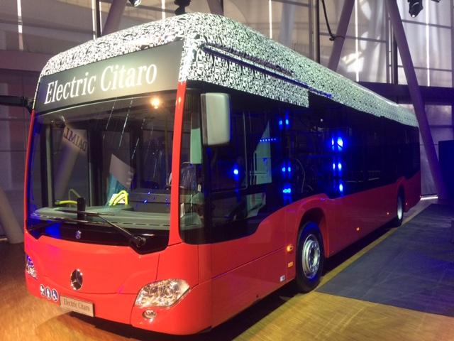 autobus elettrico mercedes citaro electric