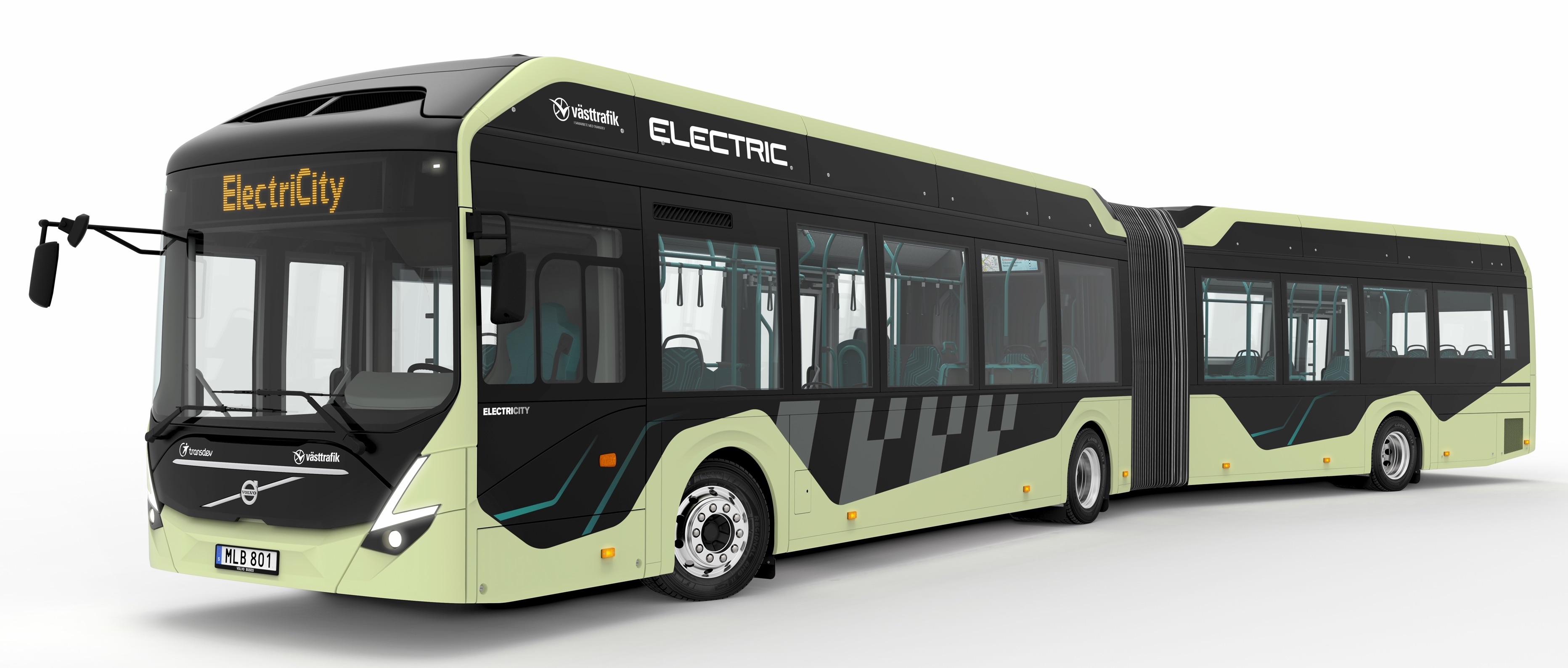 Autobus articolati elettrici