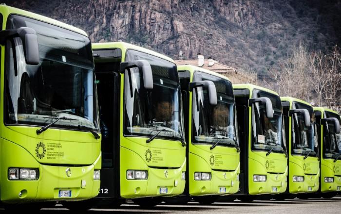 trasporto pubblico extraurbano di Bolzano