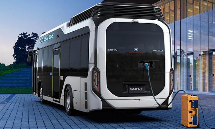 autobus a idrogeno Sora