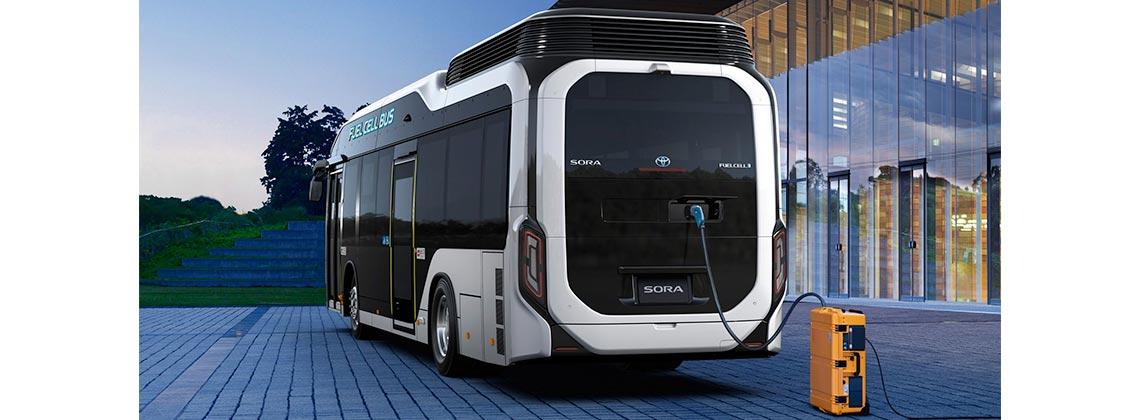 autobus a idrogeno toyota sora