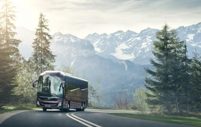 nuovo autobus turistico volvo 9900