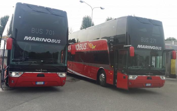 van hool autobus marino bus