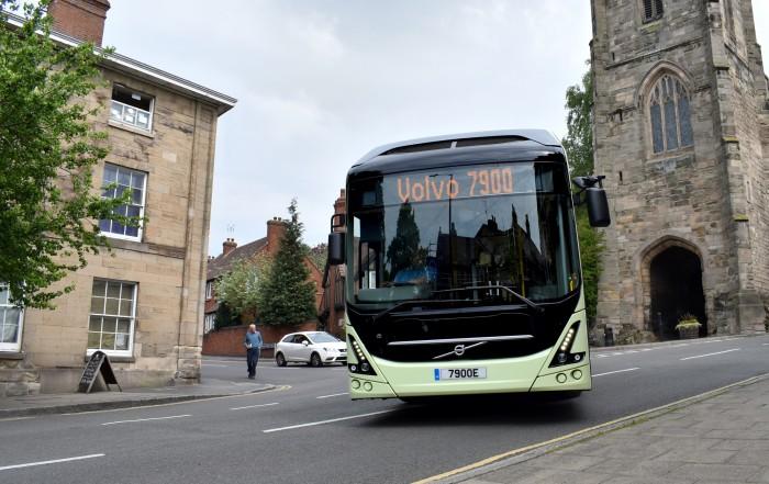 futuro elettrico dell'autobus