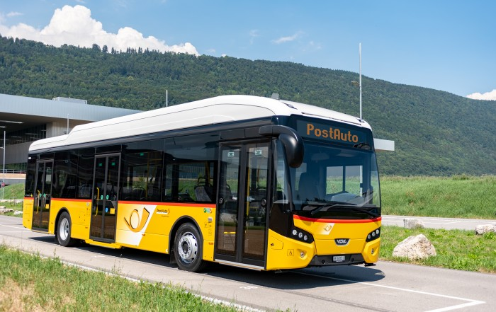 autobus elettrico vdl - vdl