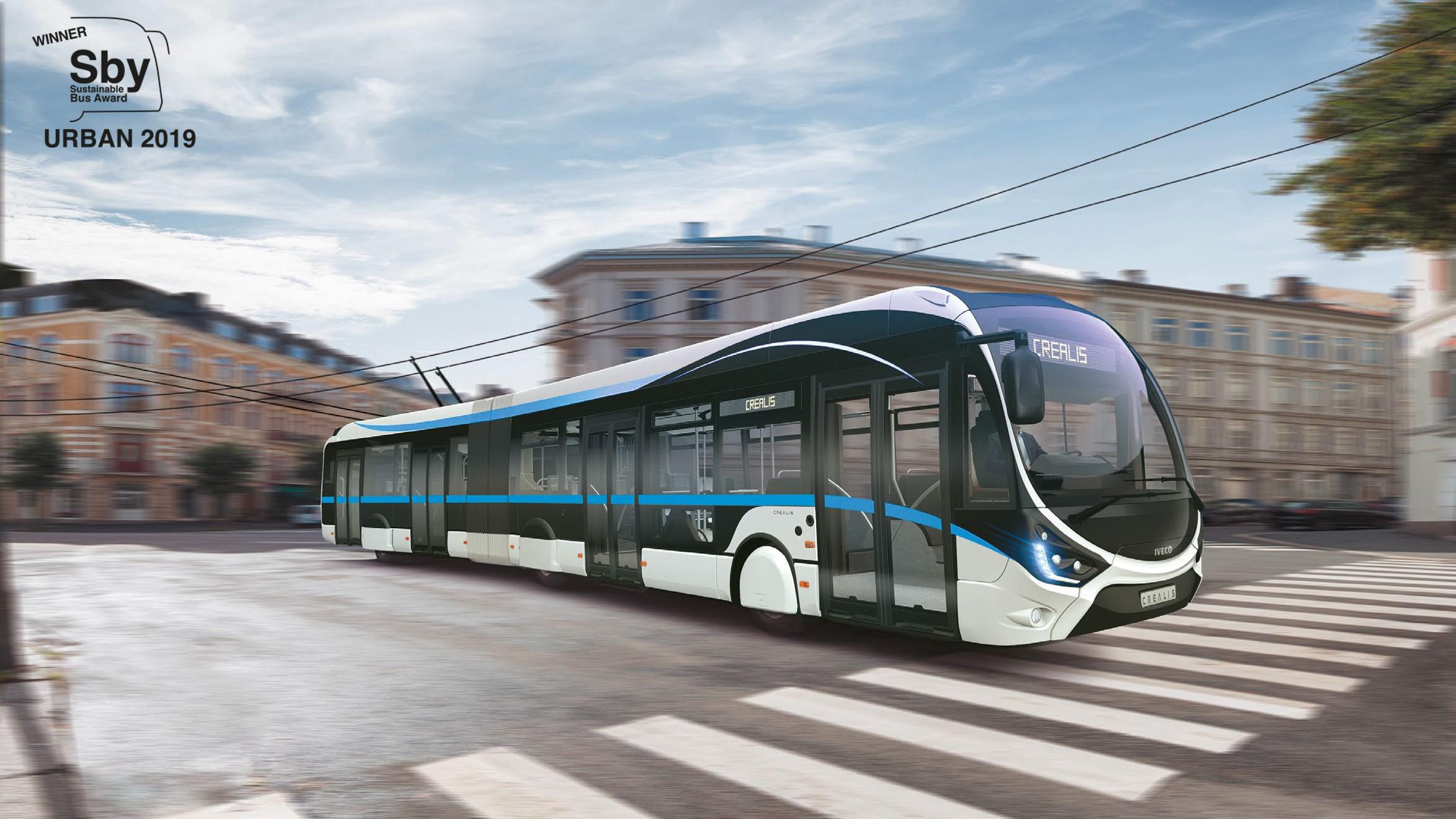 sustainable bus award 2019 - filobus Crealis