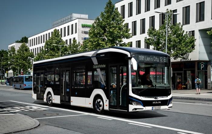 autobus elettrico man
