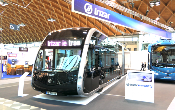 Busworld 2019 Irizar