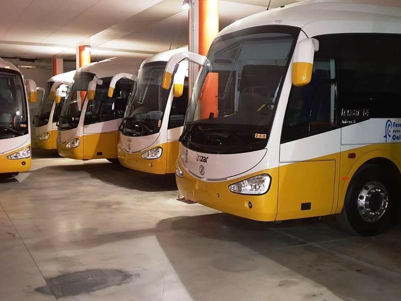ferrovie della calabria autobus nuovi irizar