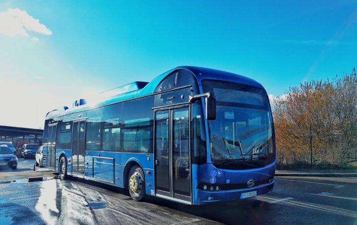 stabilimento byd francia autobus elettrici