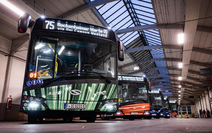 autobus elettrici solaris francoforte