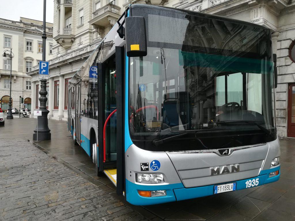 autobus man trieste trasporti