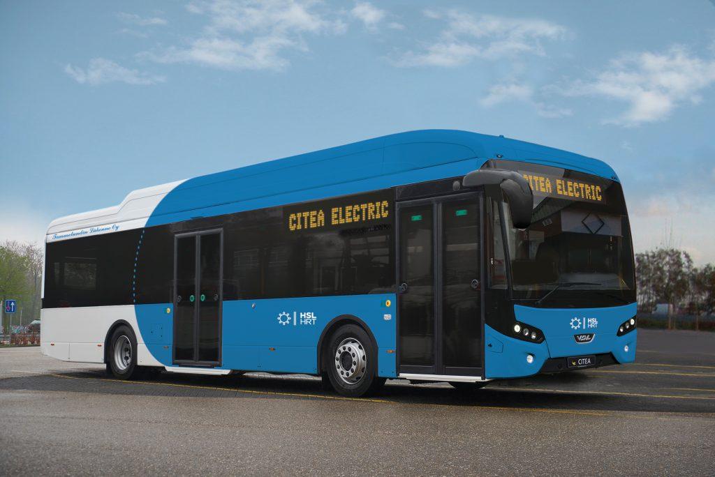 autobus elettrico vdl