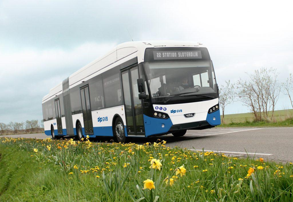 autobus elettrici citea amsterdam