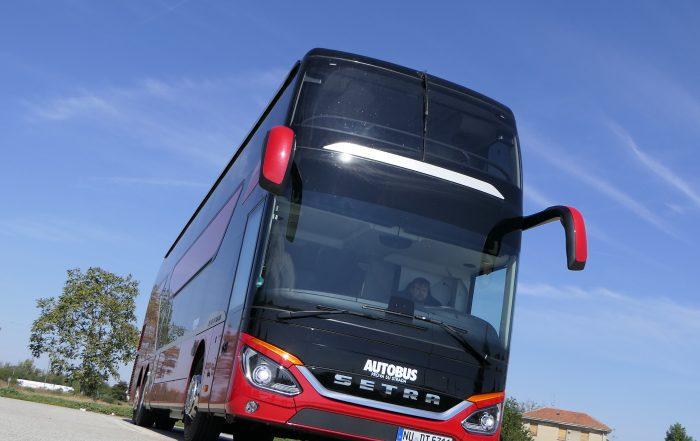 prova su strada autobus setra s531 dt