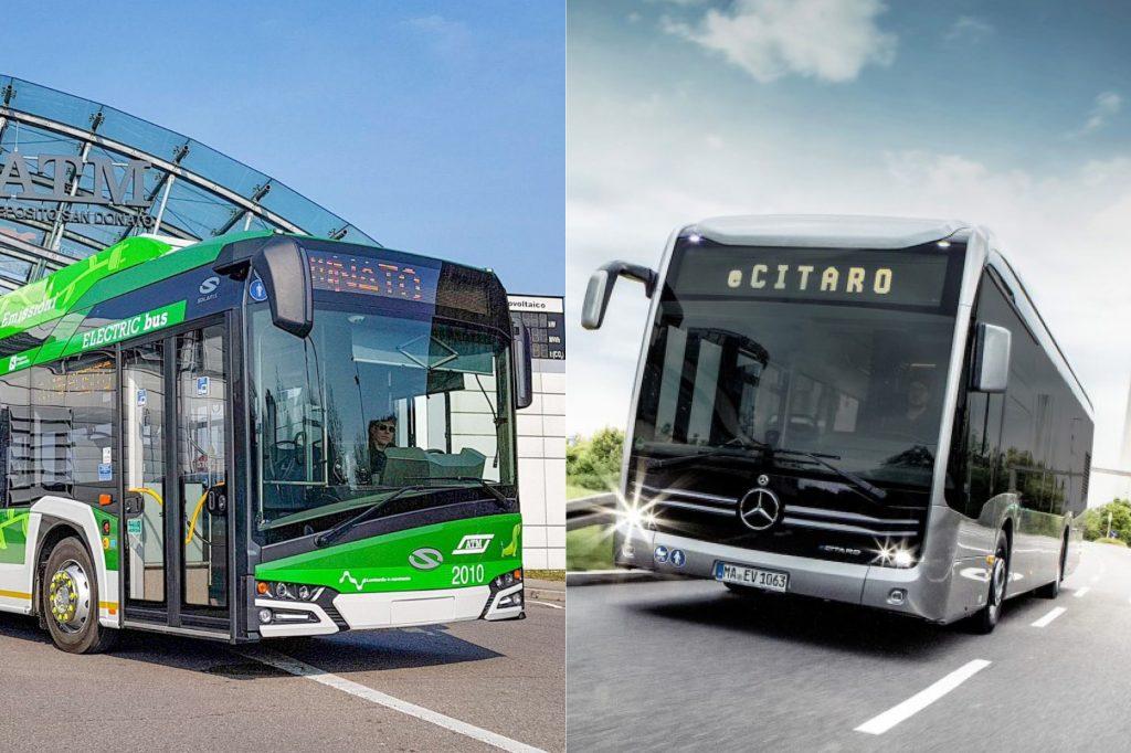 autobus elettrici milano solaris mercedes