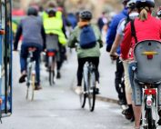 biciclette contromano autobus