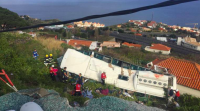 incidente autobus madeira