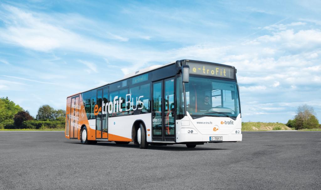 Prendi l'autobus diesel e trasformalo in elettrico. e-troFit kit con Zf