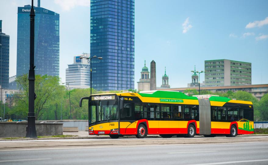 solaris electric bus warsaw