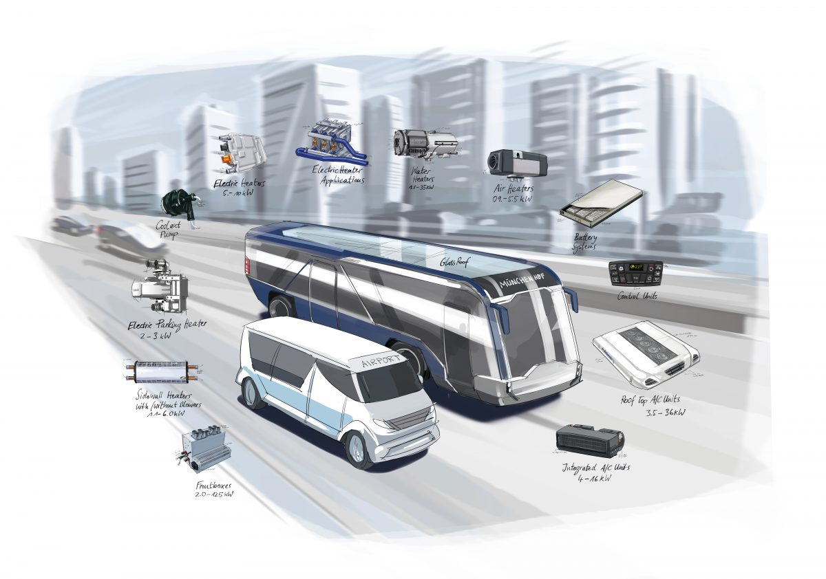webasto autobus elettrici