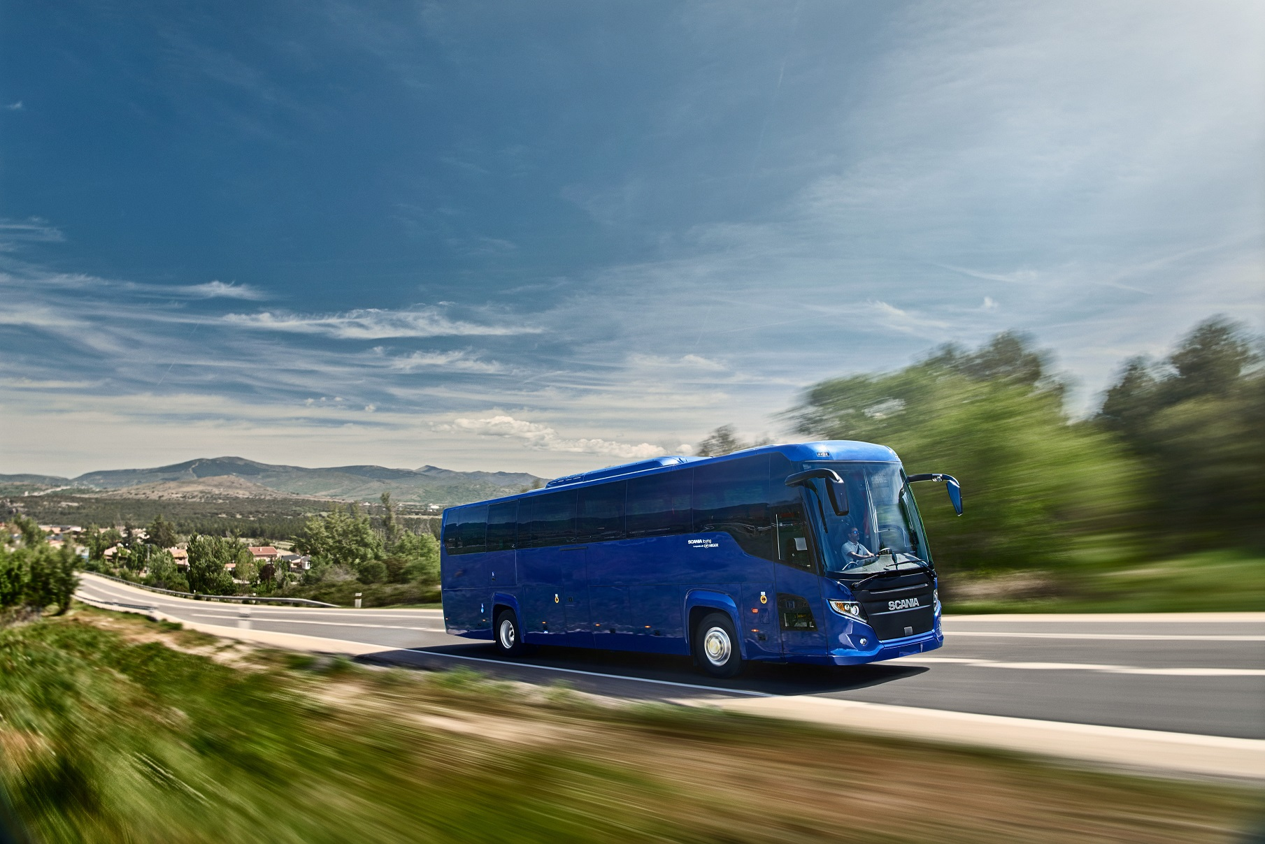 scania touring ibe driving experience