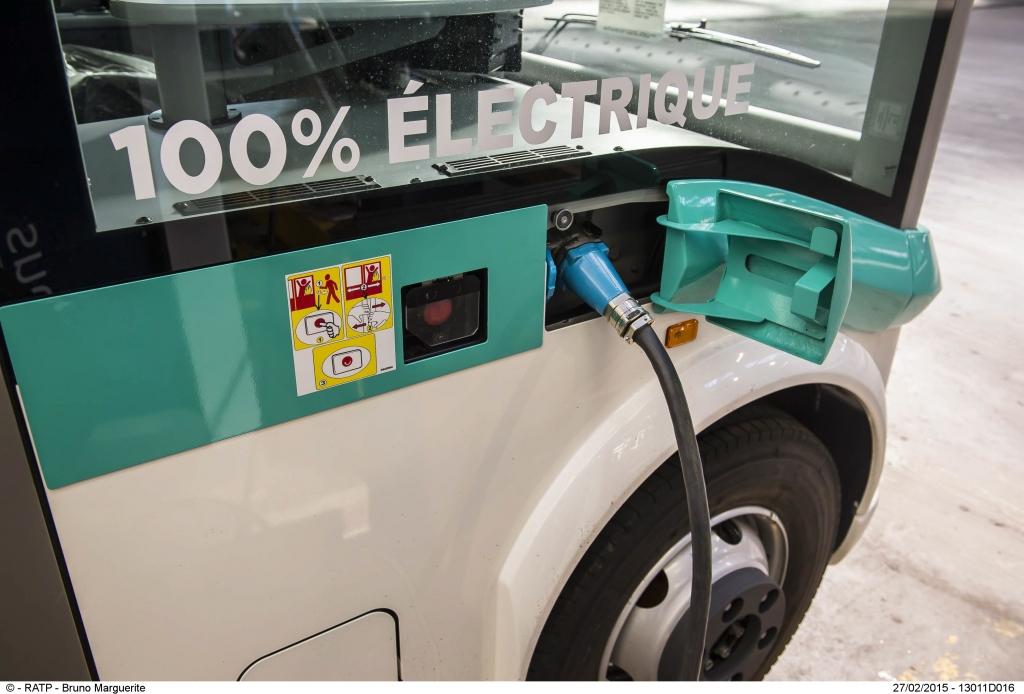 ratp autobus elettrici