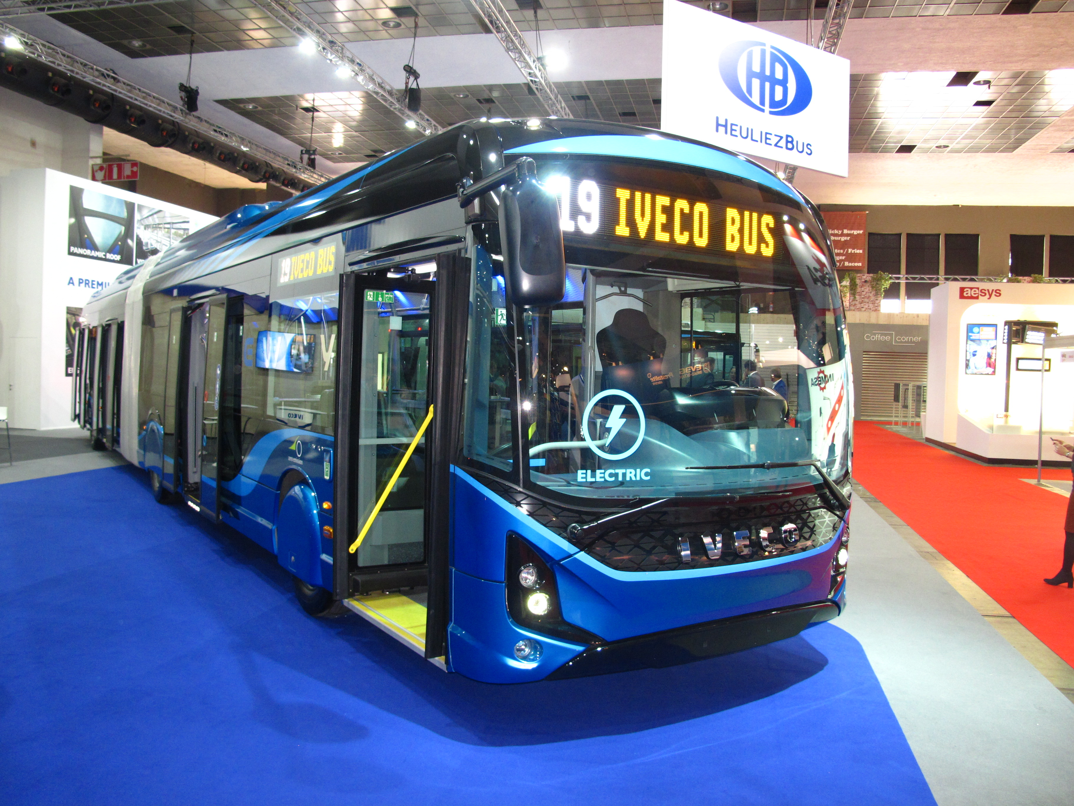 Busworld 2019 Iveco Bus