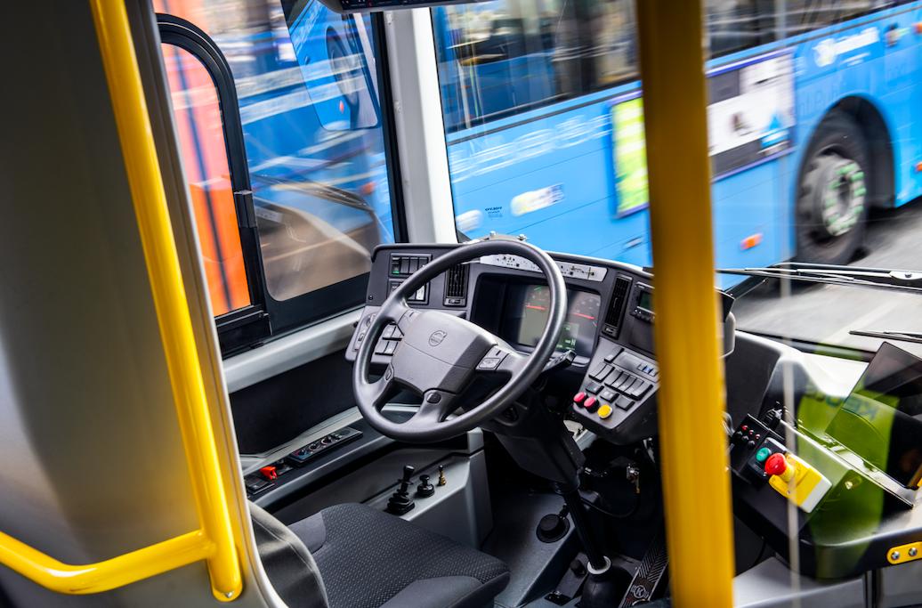 volvo autobus senza conducente