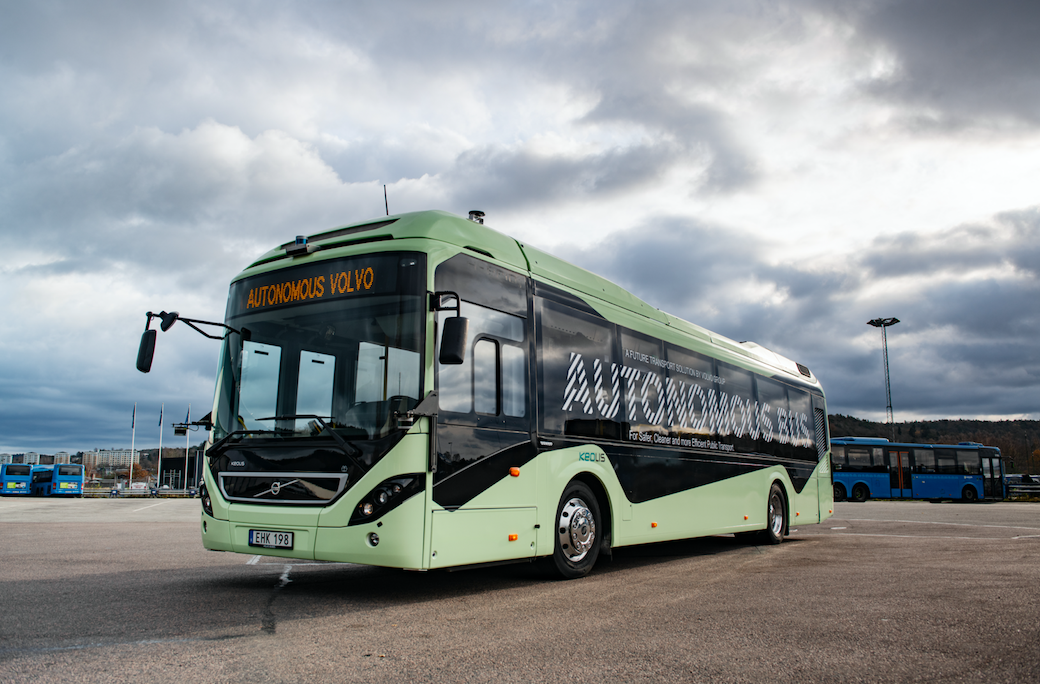 volvo autobus autonomo