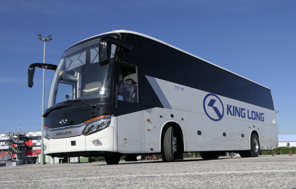 king long italia coach