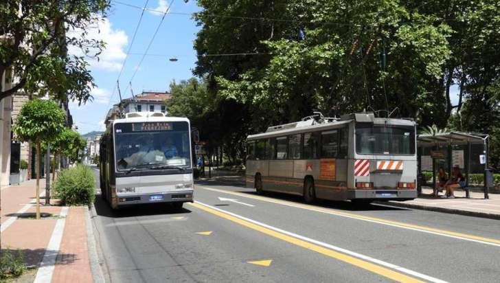 filobus trasporto pubblico la spezia