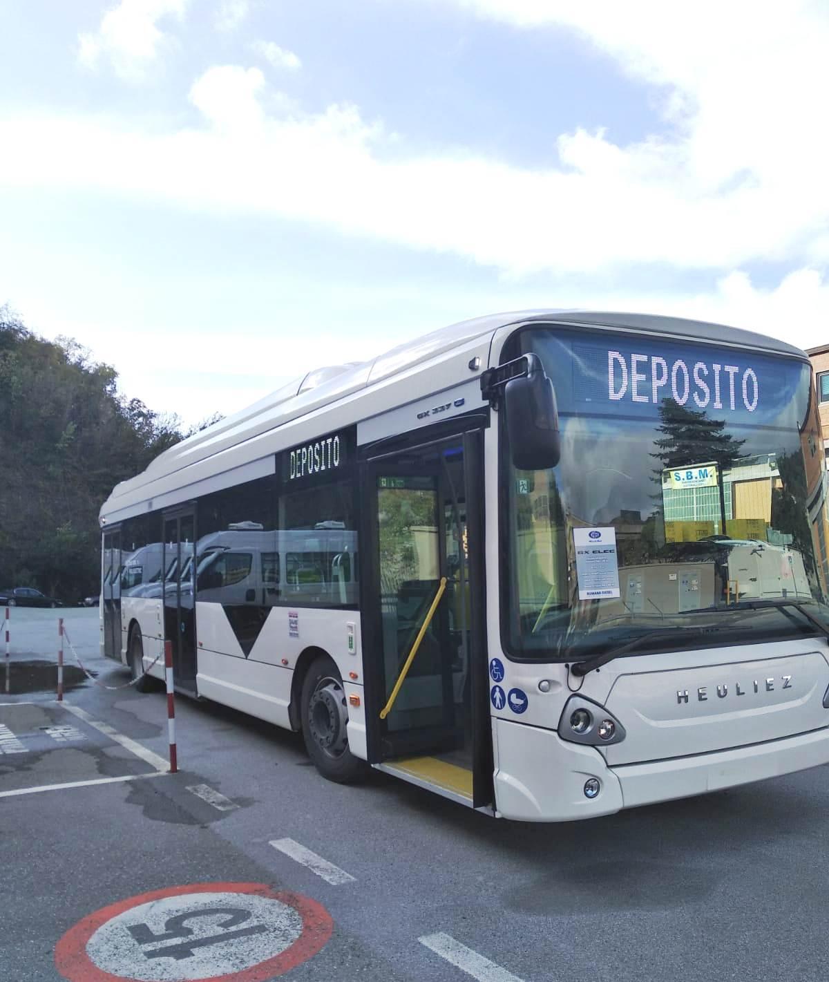 atp genova autobus elettrico