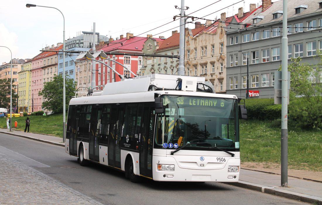 filobus praga