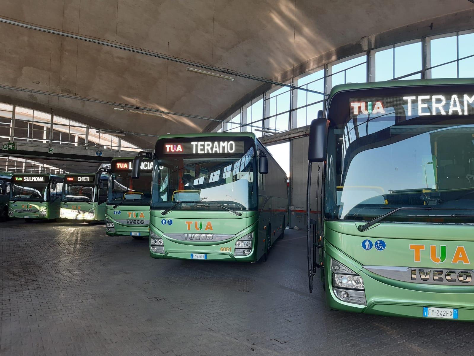 tua abruzzo nuovi bus